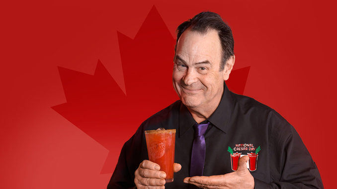 Dan Aykroyd Creates The Official Caesar Of National Caesar Day 2018