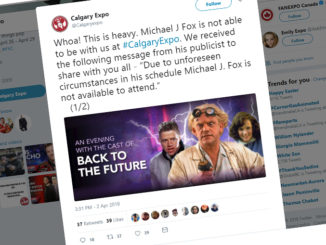 Michael J. Fox Cancels Calgary Comic And Entertainment Expo Appearance
