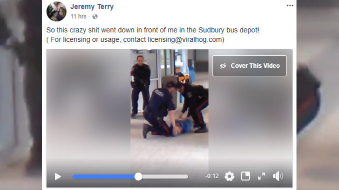 Sudbury Police Shooting Captured On Video