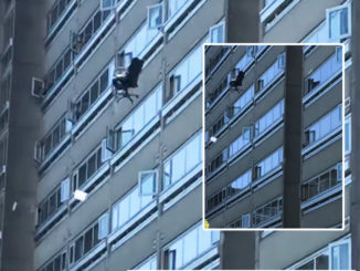Caught On Video: Man Throwing Furniture From 19th Floor Vancouver High-Rise