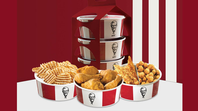 KFC Canada Serves Up New Triple Grab And Go Menu Options