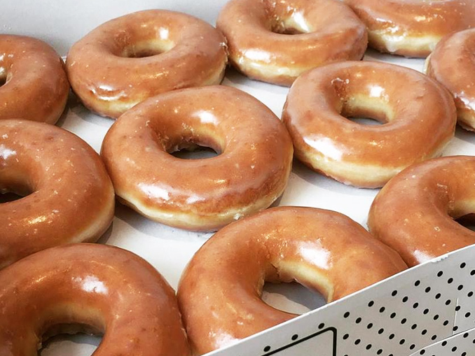 Krispy Kreme Canada Is Giving Away Free Doughnuts On June 1, 2018