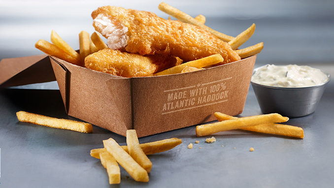 McDonald's Fries Up New Fish & Chips In Atlantic Canada