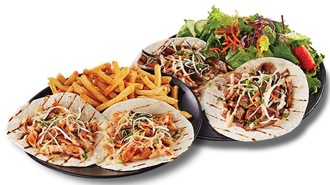 Swiss Chalet Introduces New Rotisserie Tacos