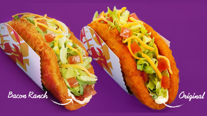 Taco Bell Canada Unveils New Bacon Ranch Naked Chicken Chalupa
