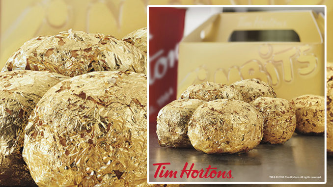 Tim Hortons Is Offering 24K Gold Timbits In The U.S.
