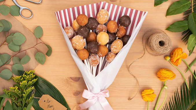 Tim Hortons Unveils New Timbits Bouquets For Mother's Day