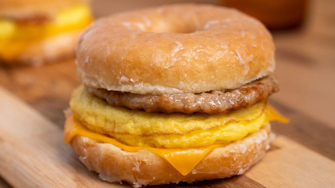 Tim Hortons Will Unleash The Honey Dip Donut Breakfast Sandwich On June 1, 2018