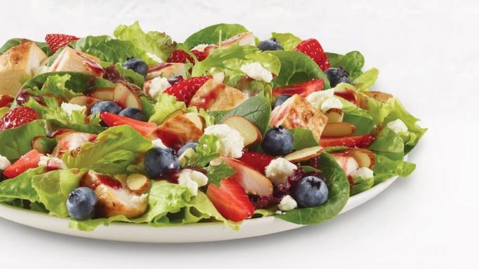 Wendy's Canada Introduces New Berry Burst Chicken Salad