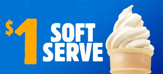 $1 Soft Serve