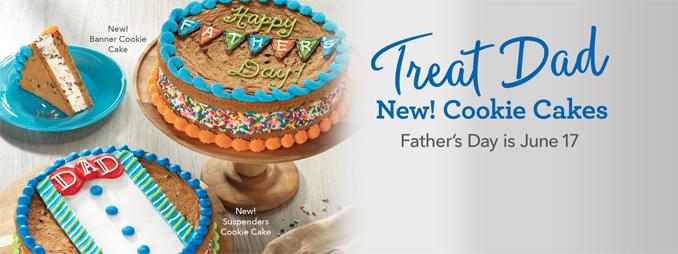 Baskin-Robbins Canada 2018 Father's Day Cakes