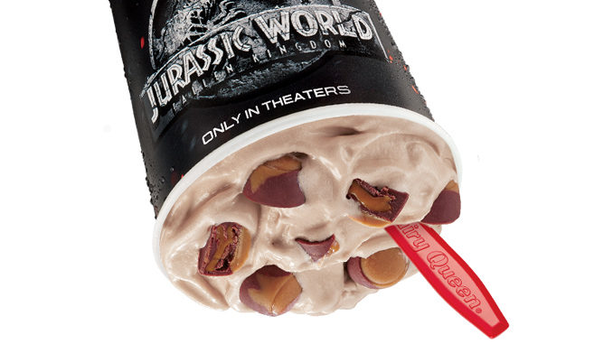 Dairy Queen Canada Introduces New Jurassic Chomp Blizzard