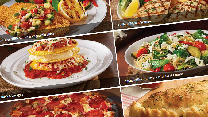 East Side Mario's Italian Food Festival Has Arrived For Summer 2018