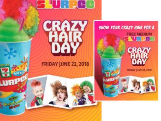 Free Medium Slurpee At 7-Eleven Canada On June 22, 2018