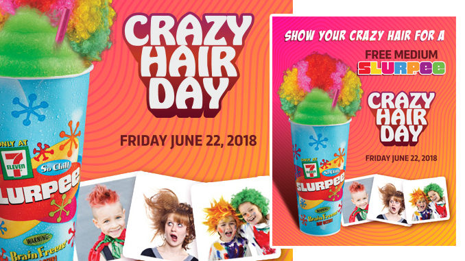Free Medium Slurpee At 7-Eleven Canada On June 22, 2018