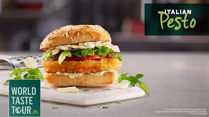 Italian Pesto Chicken Sandwich