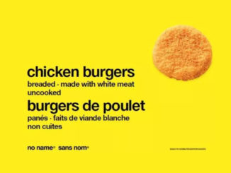 Loblaw Recalls No Name Brand Chicken Burgers Due To Salmonella Risk