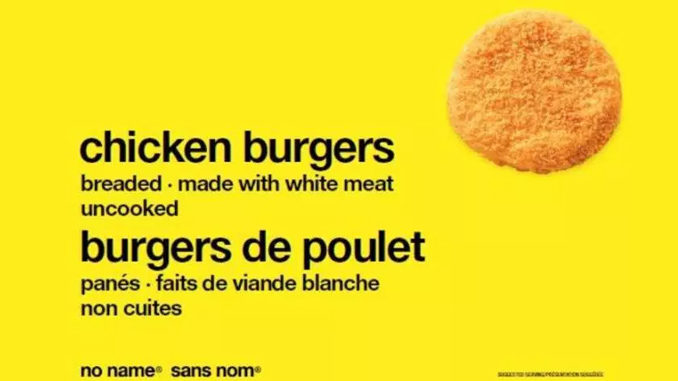 Loblaw Recalls No Name Brand Chicken Burgers Due To Salmonella Risk