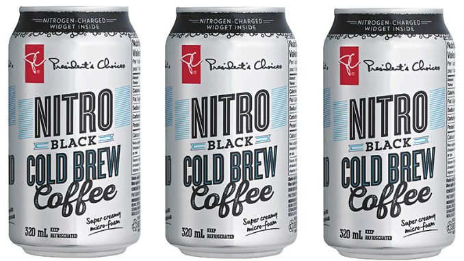 President's Choice PC Cold Brew Nitro Black Coffee Has Arrived