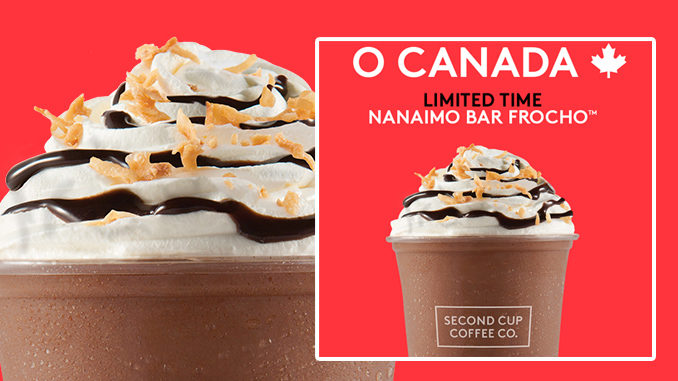 Second Cup Introduces New Nanaimo Bar FroCho