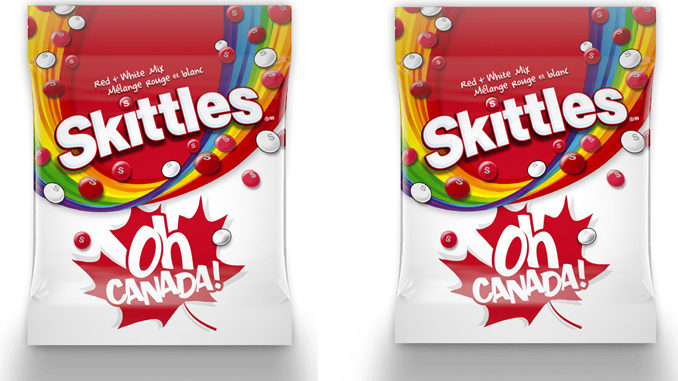 Skittles Unveils New Red & White Mix In Celebration Of Canada Day