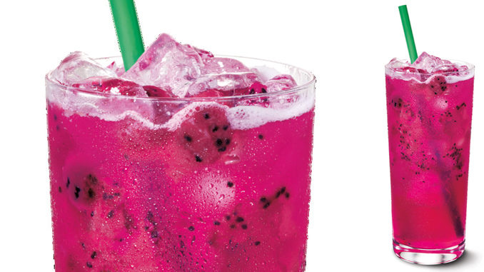 Starbucks Canada Adds New Mango Dragonfruit Refreshers