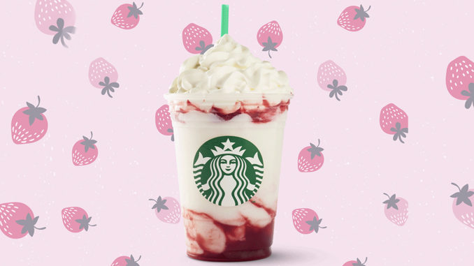 Starbucks Canada Pours New Serious Strawberry Frappuccino