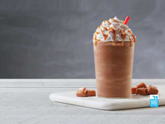 Tim Hortons Pours New Salted Caramel Iced Capp