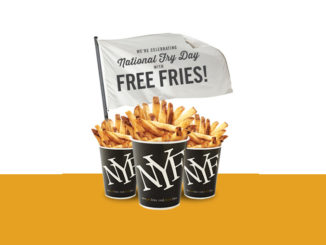 Free Fries For Fry Society Members At New York Fries On July 13, 2018