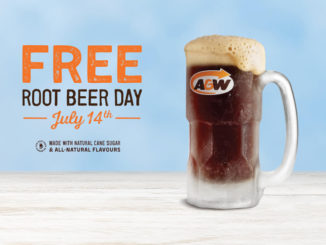 Free Root Beer Day At A&W Canada On July 14, 2018