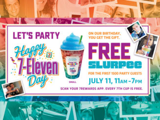 Free Slurpee Drinks At 7-Eleven Canada On July 11, 2018