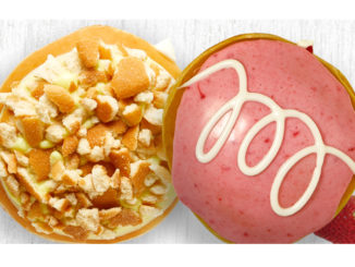 Krispy Kreme Canada Offers Banana Pudding And Strawberries & Kreme Doughnuts