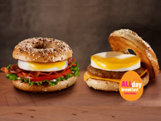 McDonald's Canada Adds New All Day Breakfast Bagel Sandwiches