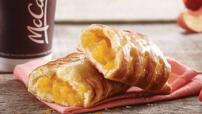McDonald's Canada Introduces New Freestone Peach Danish