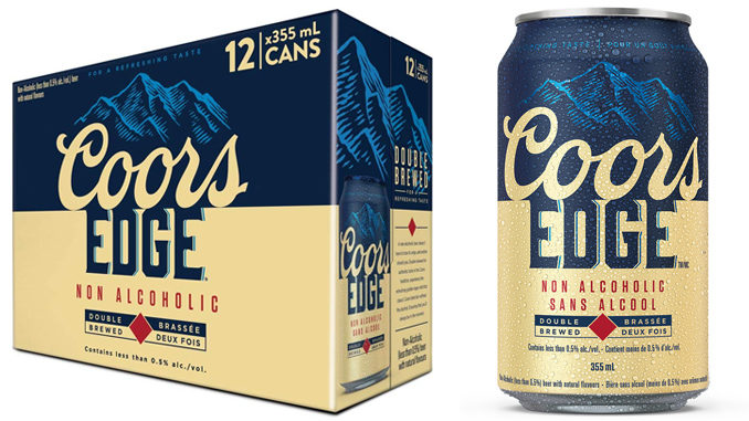 Molson Coors Canada Announces New Non-Alcoholic Beer Available At Amazon.ca