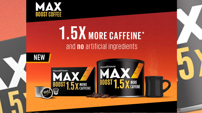 New Max Boost Coffee Now Available in Canada