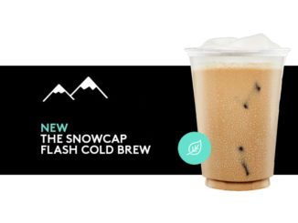 Second Cup Pours New Snowcap Flash Cold Brew