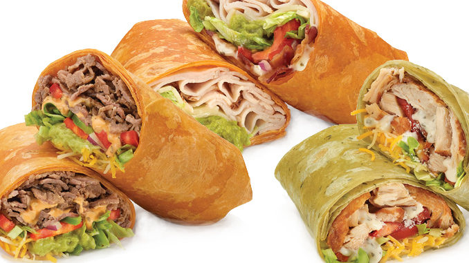 Subway Canada Introduces New Signature Wraps