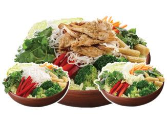 Thai Express Introduces New Thai Salads