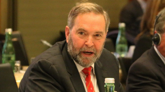 Tom Mulcair Joins CJAD 800 Montreal And CTV Power Play As New Political Analyst