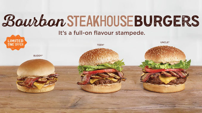 A&W Canada Introduces New Bourbon Steakhouse Burgers