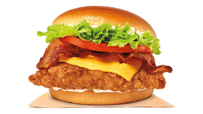Burger King Canada Introduces New Bacon & Cheese Crispy Chicken Sandwich