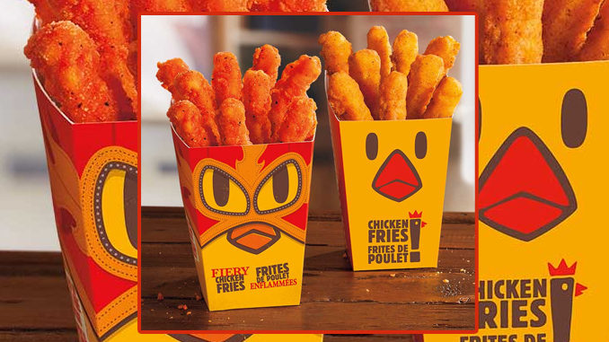Burger King Canada Introduces New Fiery Chicken Fries