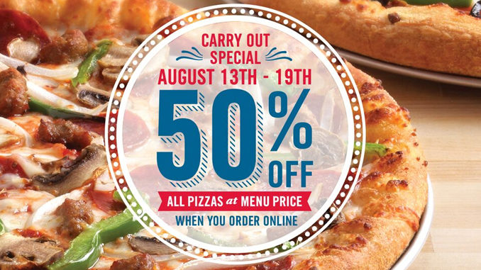 Dominos 50 off online deal : Promotions for great wolf lodge