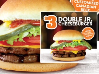 Harvey's Offer $3 Double Jr. Cheeseburgers Through September 16, 2018