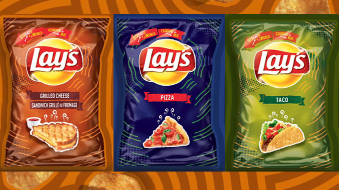 Lay's Canada Unveils New StrEATS Of The World Potato Chips