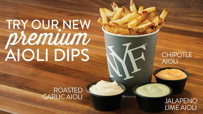 New York Fries Introduces New Premium Aioli Dips