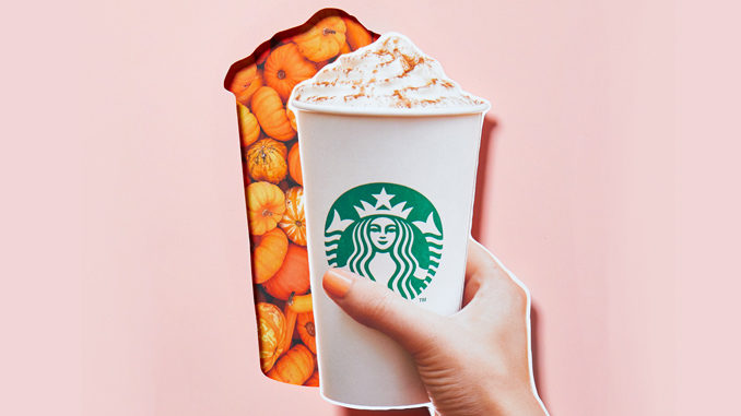 Pumpkin Spice Latte Is Back At Starbucks Canada For Fall 2018