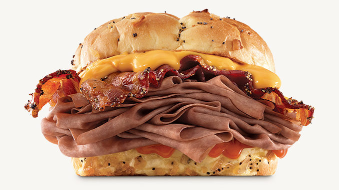 Arby's Canada Introduces New Bacon Beef 'N Cheddar Sandwich
