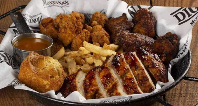 Chicken Showdown Platter